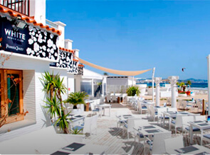 Beach Club White Ibiza