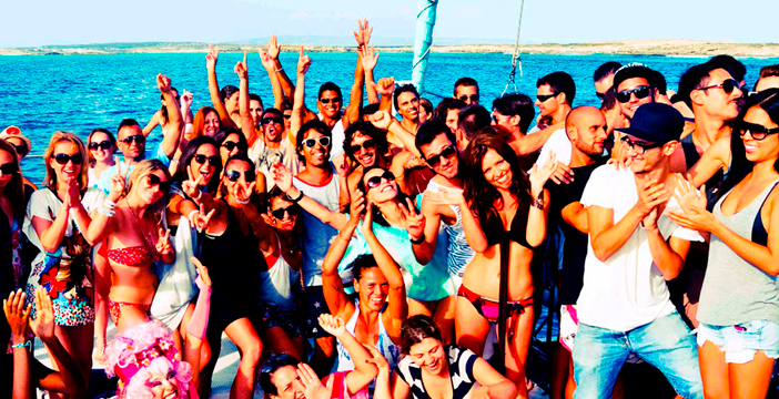 Boat Party Lost in Ibiza