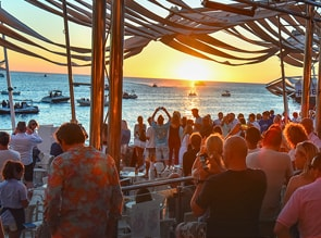 Beach Club Café del Mar Ibiza